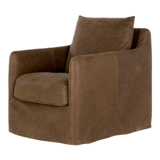 Erdos + Ko Home National Leather Side Chair