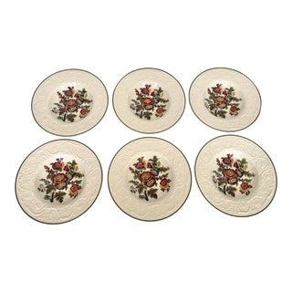 Antique Wedgwood Patrician Soup Bowls- Set of 6 For Sale