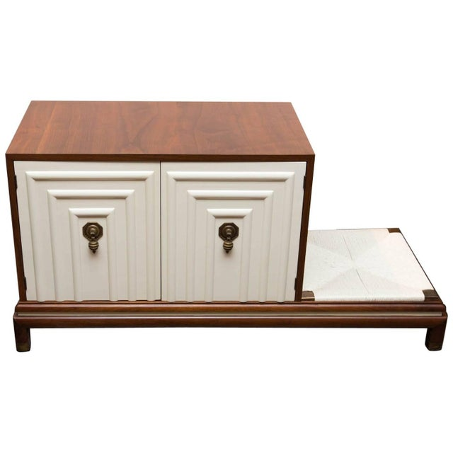 Renzo Rutili Midcentury Cabinet Bench for Johnson Furniture For Sale - Image 10 of 10
