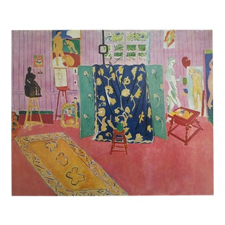 "Matisse Original Vintage 1973 Lithograph Print ""The Pink Studio L' Atelier Rose"", 1911 For Sale"