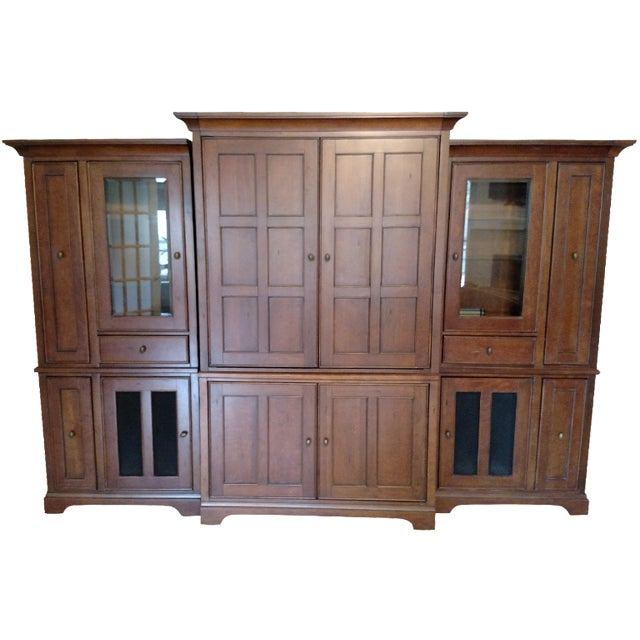 Riverside Furniture Wooden Entertainment Center - Image 1 of 5
