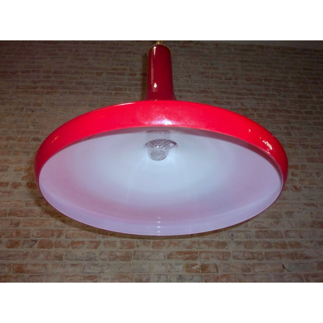 Red Foscarini Pendant - Image 4 of 5