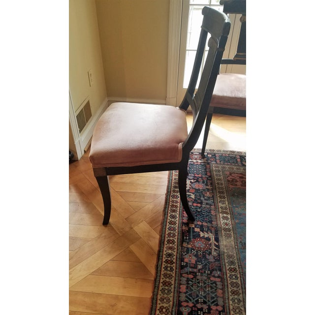 Jules Leleu Neoclassical Dining Table & 4 Chairs - Image 6 of 11