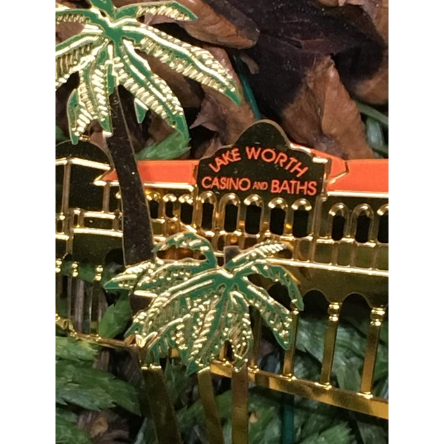 American Lake Worth Casino Christmas Tree Ornament For Sale - Image 3 of 6