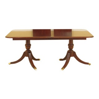Thomasville Cherry Duncan Phyfe Dining Room Table For Sale