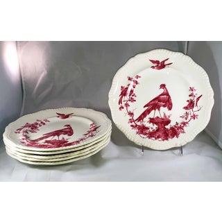 Copeland Spode Black Bird Dinner Plates - Set of 6 Preview