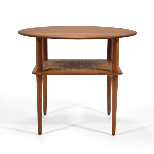 Mid-Century Modern Peter Hvidt/ Mølgaard-Nielsen Fd 522 Occational Table For Sale - Image 3 of 10