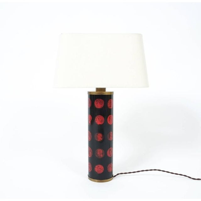 1960s Piero Fornasetti Table Lamp Cameo, circa 1960 For Sale - Image 5 of 5