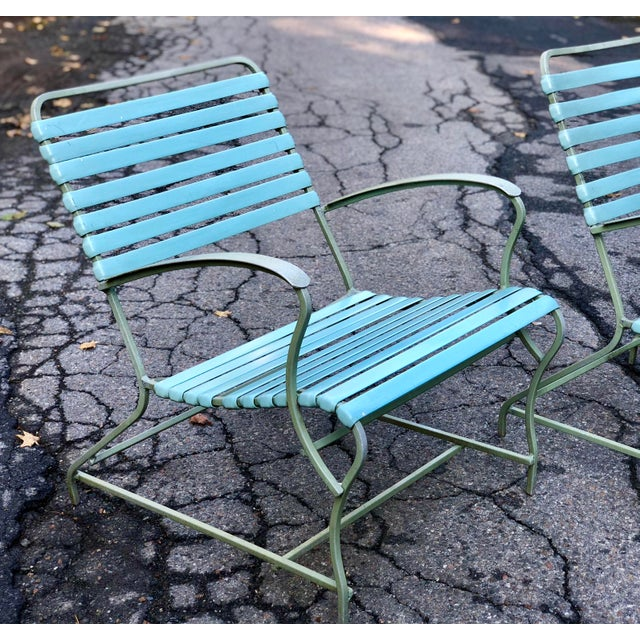 Mid Century Modern Patio Furniture Set Lounge & Chairs For Sale - Image 4 of 13