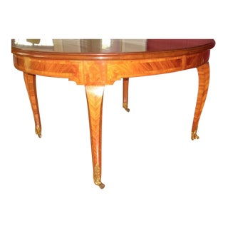1930s French Louis XV Style Dining Table For Sale