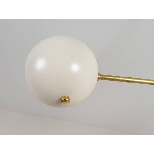"""Custom """"Aster"""" Pendant in Brass + Enamel by Blueprint Lighting For Sale In New York - Image 6 of 8"""