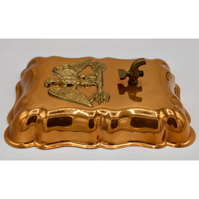 Vintage Federal Eagle Copper Mold Wall Mount For Sale In Tulsa - Image 6 of 12