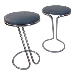 Gilbert Rohde Z Stools for Troy Sunshade Company