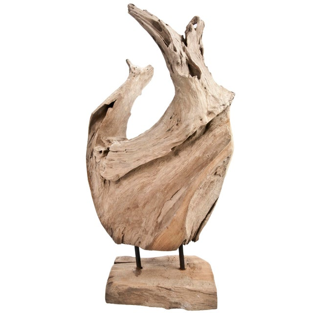 Indonesian Driftwood Fragment With Stand - Image 3 of 5