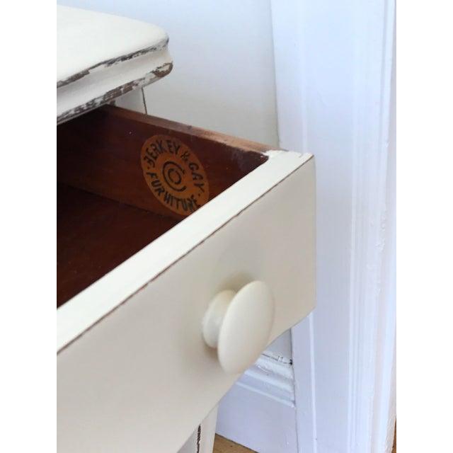Wood Vintage Berkey & Gay Writing Desk For Sale - Image 7 of 11