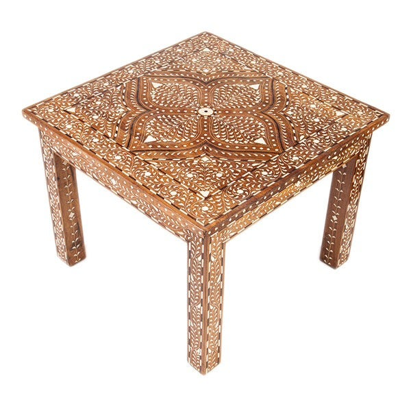 Syrian Square Coffee Table - Image 1 of 2