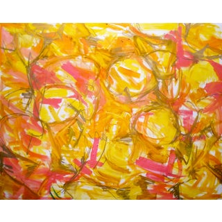 """Chinese New Year"" Extra-Large Abstract Oil Painting For Sale"