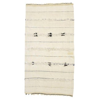 20th Century Moroccan Wedding Blanket - 3′8″ × 6′9″ For Sale