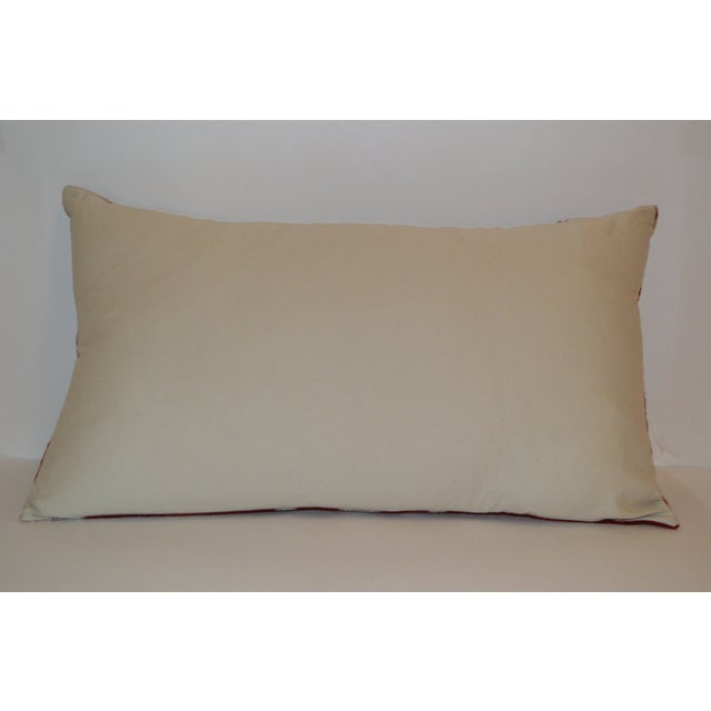 Vintage Sofra Lumbar Pillow - Image 4 of 4