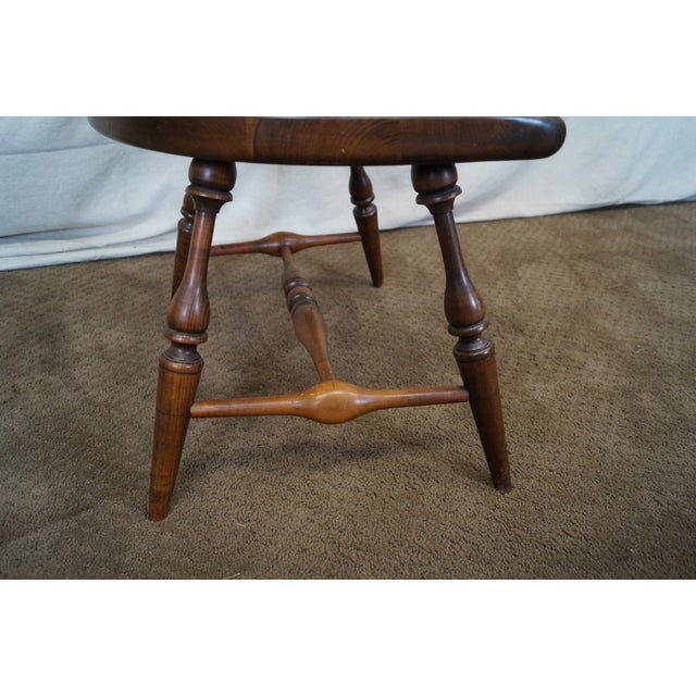 Custom Fan Back Windsor Arm Chairs - A Pair - Image 6 of 10