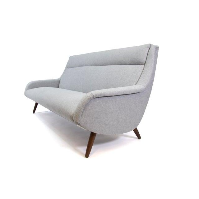 1950s 1958 Vintage Bengt Ruda for Esa Mobler Danish 3 Seat Sofa For Sale - Image 5 of 9