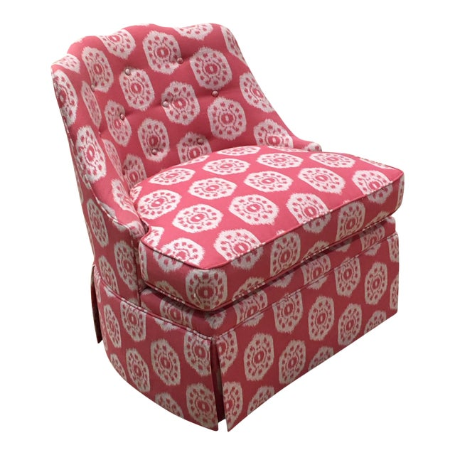 Thibaut Brentwood Swivel Chair Showroom Sample For Sale