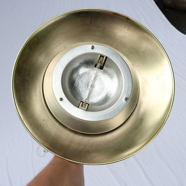 Vintage Italian Gold Three-Prong Torchiere - Image 9 of 10