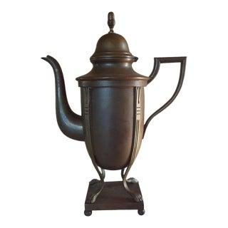 1970s Asian Style Brass Teapot