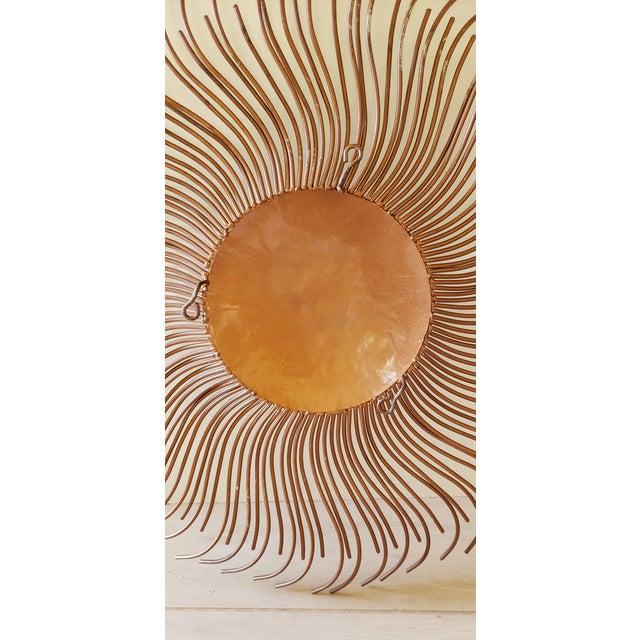 2000 - 2009 Curtis Jere Signed Sunburst Metal Wall Sculpture For Sale - Image 5 of 13