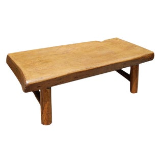 20th c. Chinese Plank-Top Table For Sale