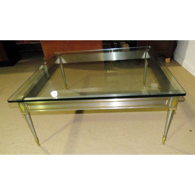 Mid 20th Century Vintage John Vesey Style Coffee Table For Sale - Image 9 of 11