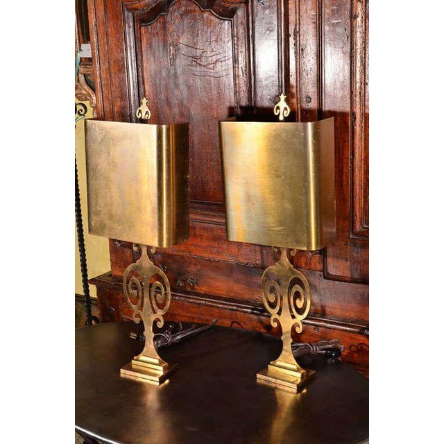 Pair Maison Charles Lamps - Image 5 of 7