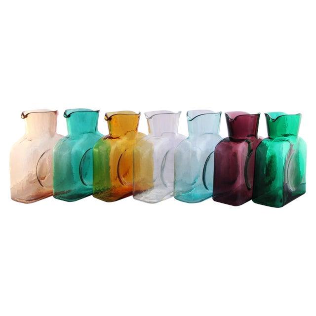 Blenko Glass Carafe Vase - Image 1 of 3
