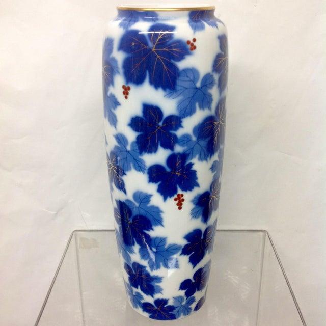 Mid-Century Japanese Porcelain Arita Vase - Image 2 of 7