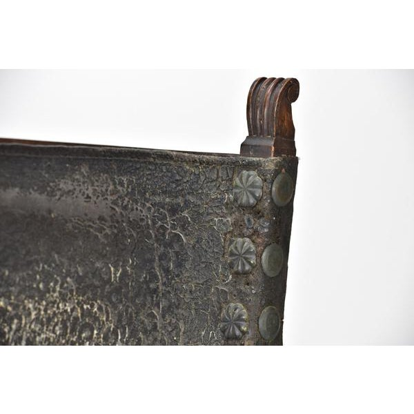 17th Century 17th C. Spanish Renaissance Friar Chair For Sale - Image 5 of 13