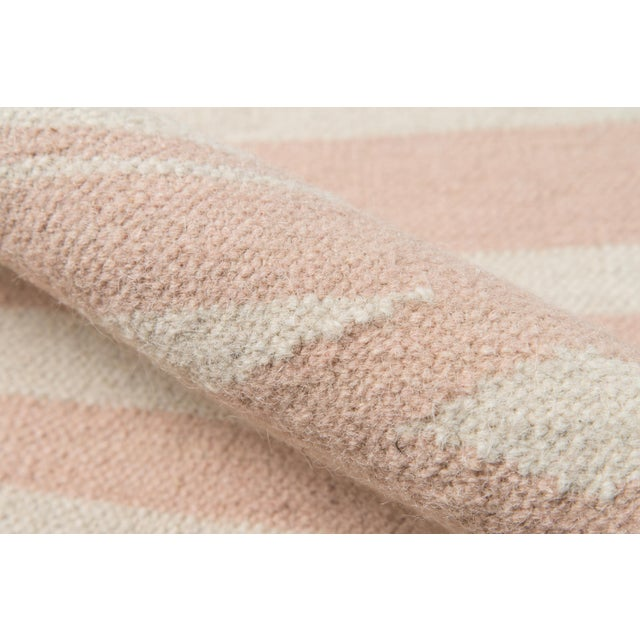 """Erin Gates by Momeni Thompson Billings Pink Hand Woven Wool Area Rug - 3'6"""" X 5'6"""" For Sale - Image 4 of 7"""