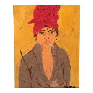 """Lady After Bath"" Original Artwork Painting"