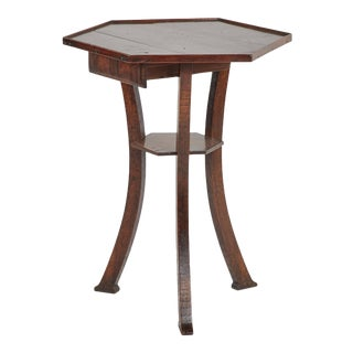 Octagonal Side Table For Sale
