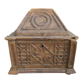 Early 18th Century Spanish Trunk For Sale