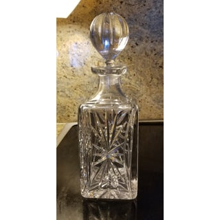 20th Century Etched Crystal Bergdorf Goodman Decanter Preview