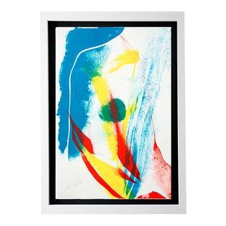 1960's Paul Jenkins Framed Print For Sale