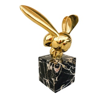 G. Lachaise Bronze and Marble Bee Sculpture For Sale