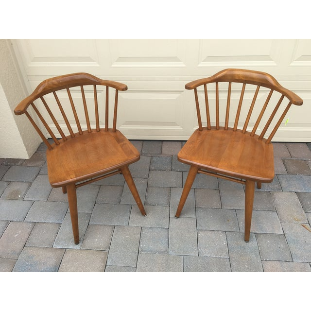 Russel Wright Conant Ball Chairs - A Pair - Image 2 of 4