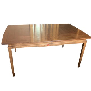 1960s Mid-Century Modern Thomasville Dining Room Table For Sale