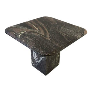 Italian Marble Side Table For Sale
