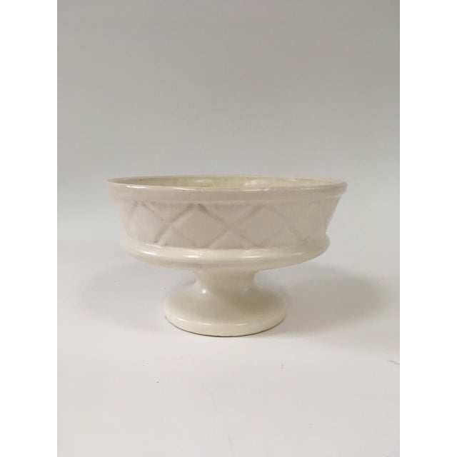 1960s Mid Century Ivory Hull Planter For Sale - Image 5 of 5