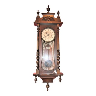 Ansonia Wall Clock With German Movement For Sale