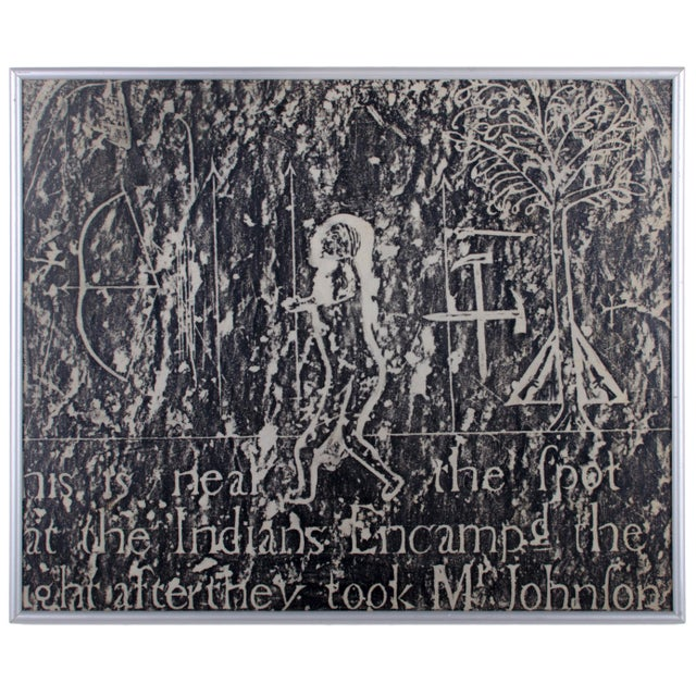 Americana Early New England Gravestone and Marker Rubbings - Set of 3 For Sale - Image 3 of 7