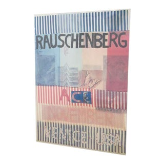 "Robert Rauschenberg Poster, ""Ace, Venice, U.S.A."" 1977 For Sale"