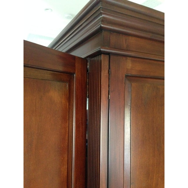Classic Wood Armoire/Wardrobe - Image 5 of 10